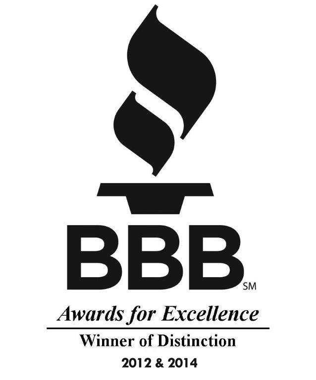 BBB Winner of Distinction 2012